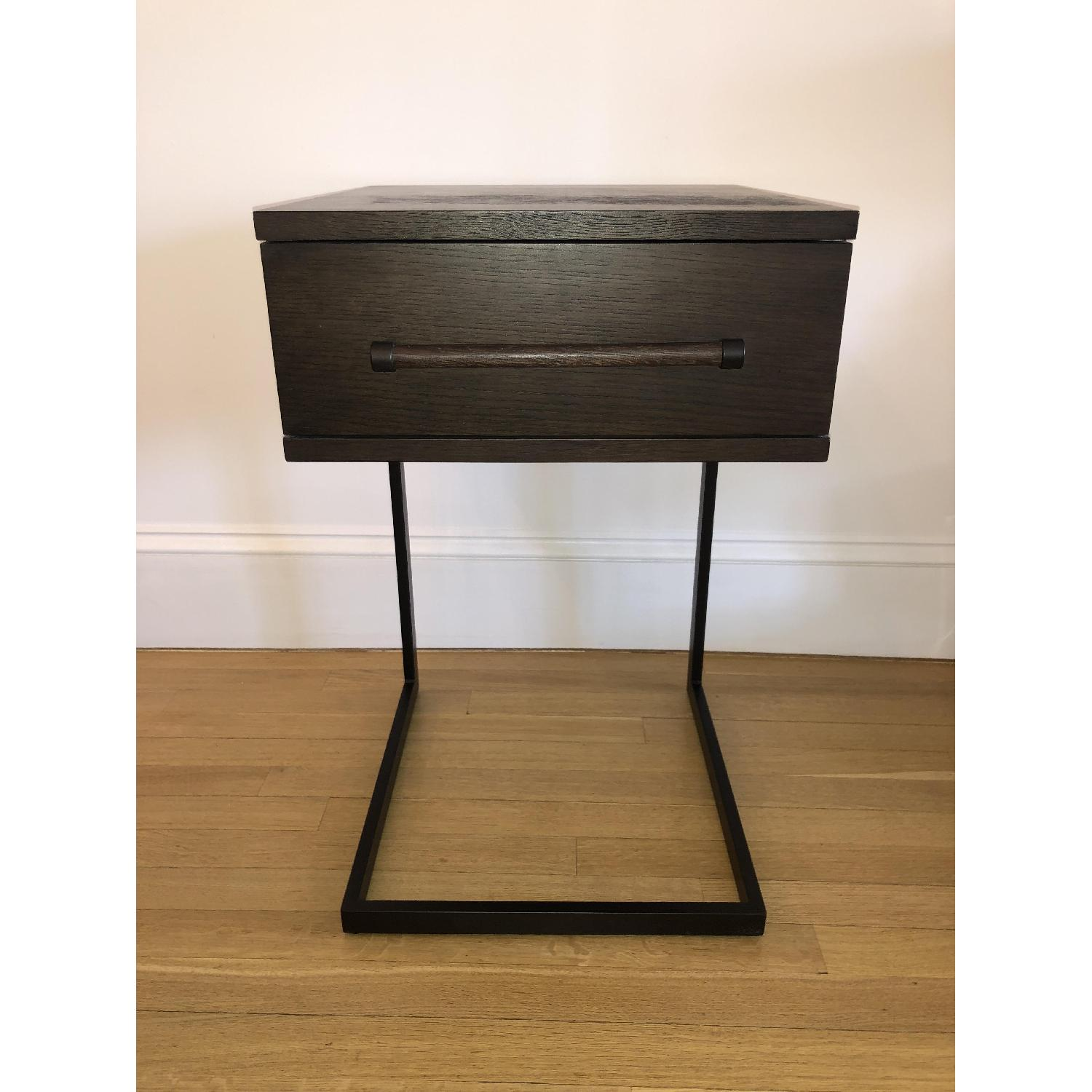 West Elm Parsons Wood Side Table - image-1