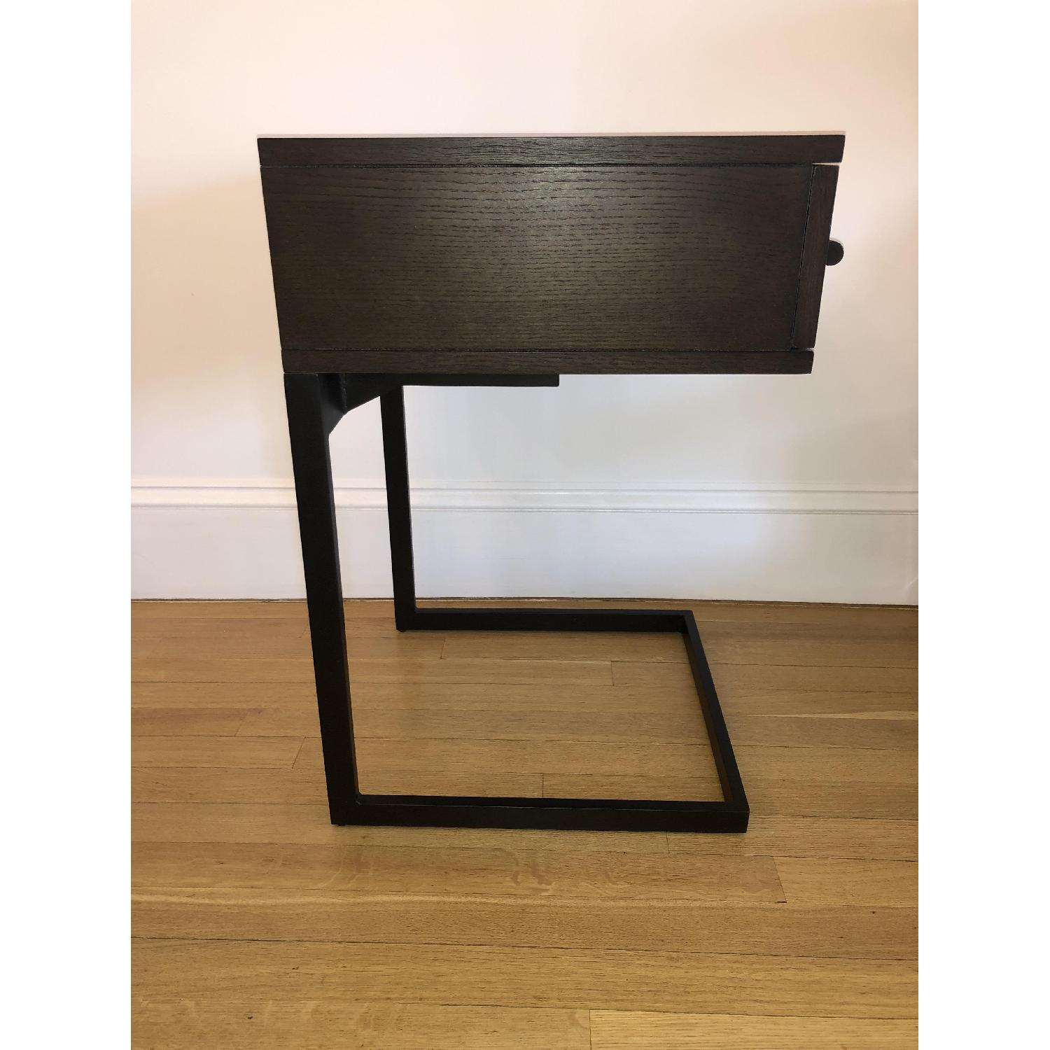 West Elm Parsons Wood Side Table - image-2