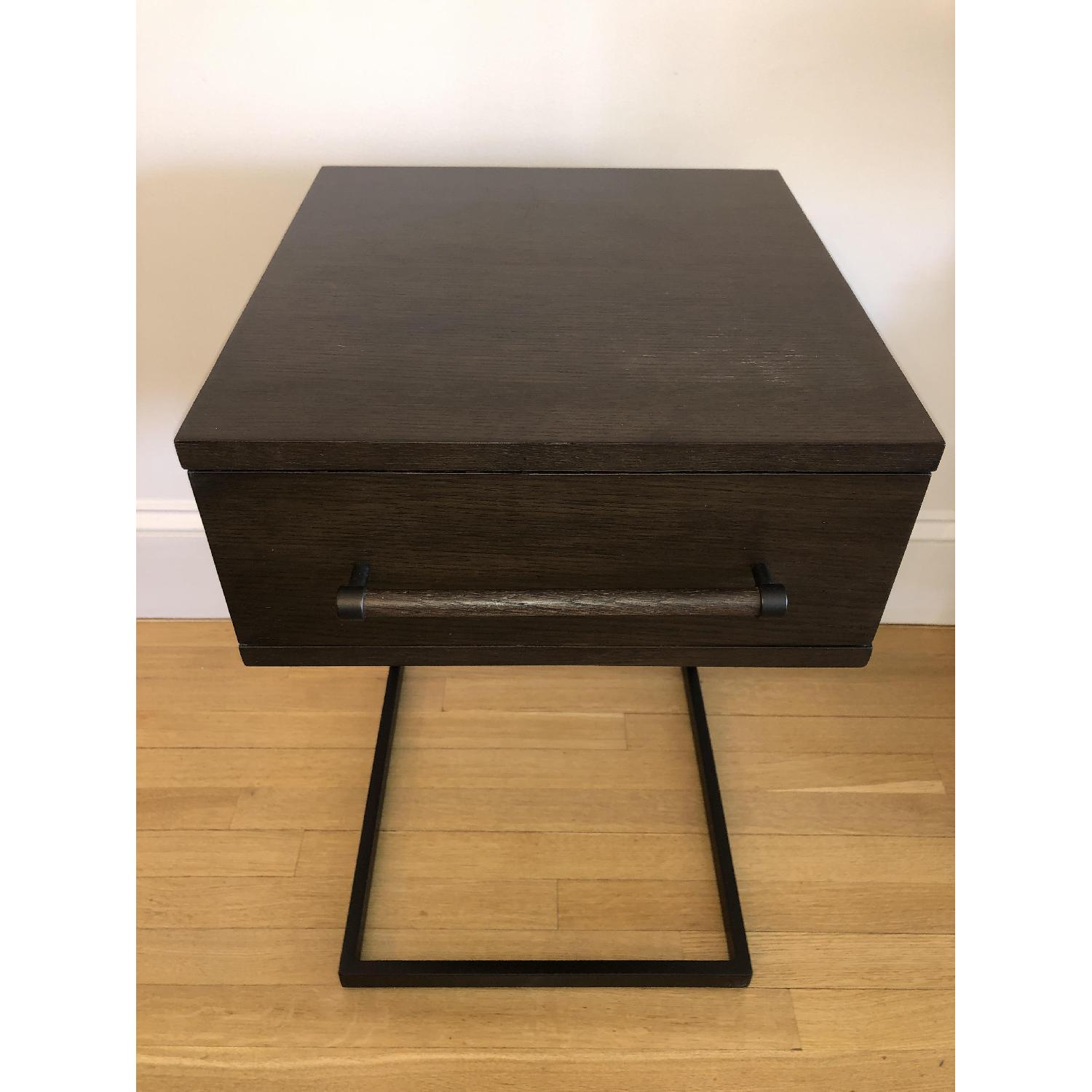West Elm Parsons Wood Side Table - image-3