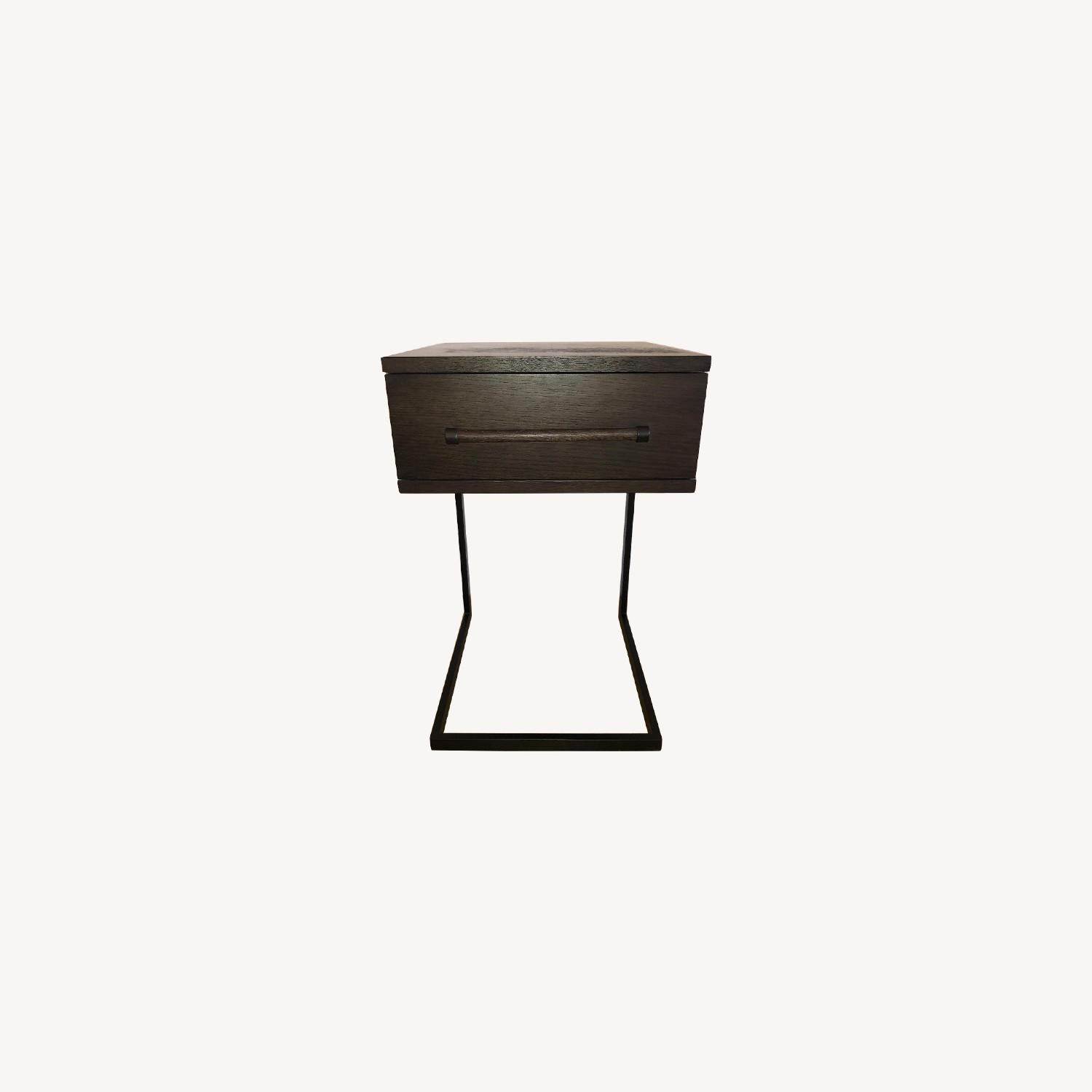 West Elm Parsons Wood Side Table - image-0
