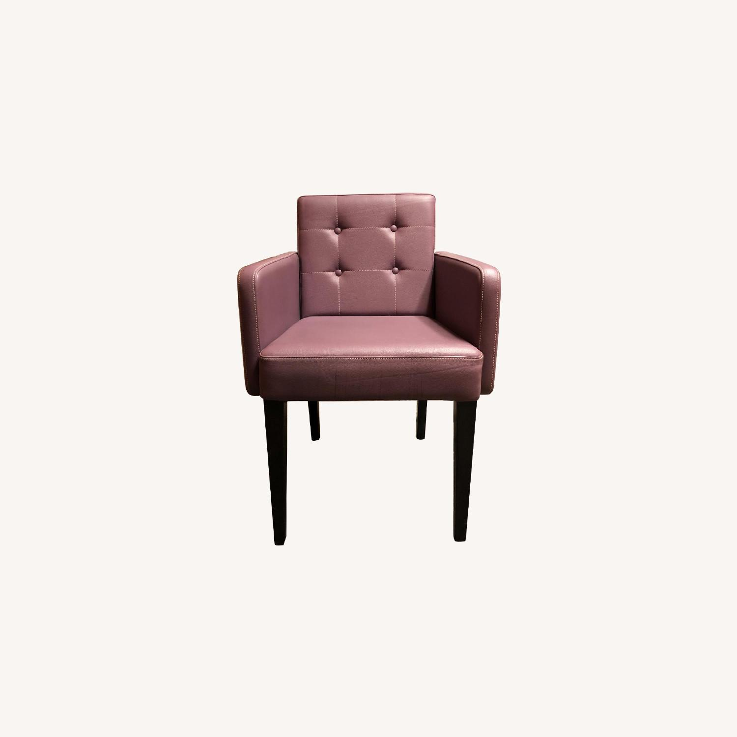 Coulboy & Co Custom Faux Leather Dining Chairs - image-0