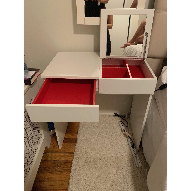 Ikea Brimnes White Dressing Table - image-2