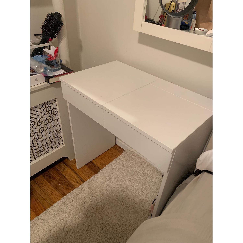 Ikea Brimnes White Dressing Table - image-3