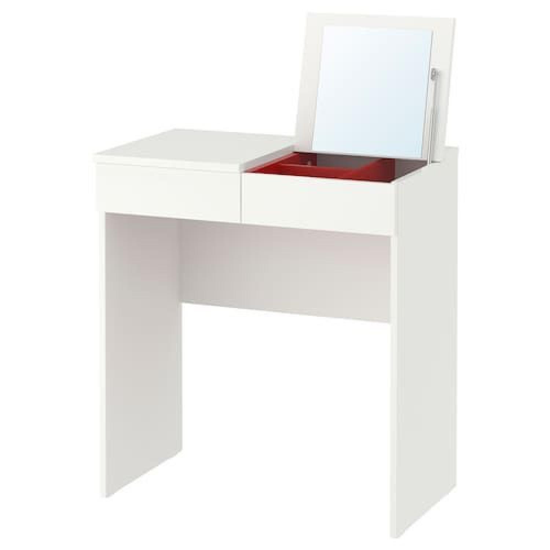 Ikea Brimnes White Dressing Table - image-0