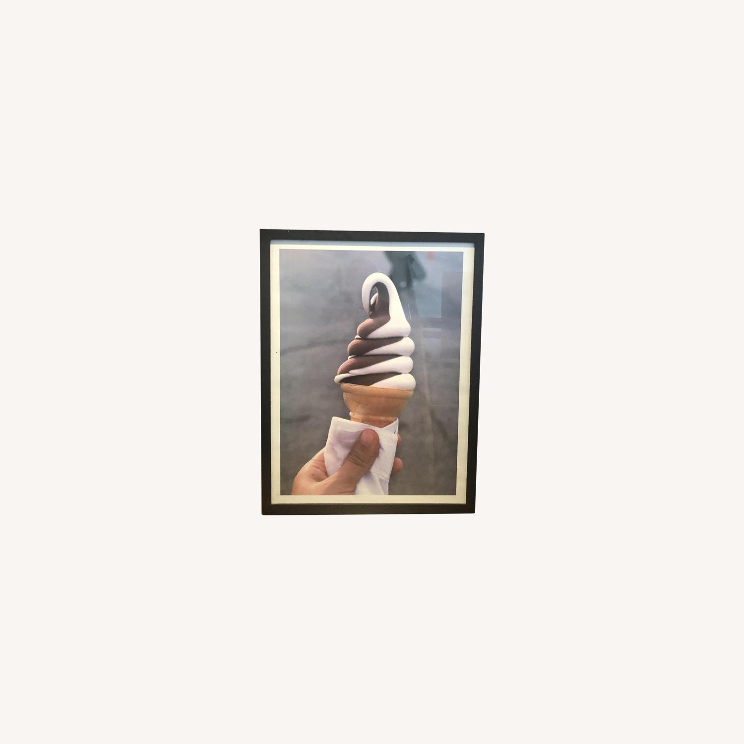 Urban Outfitters Framed Ice Cream Photo - image-0