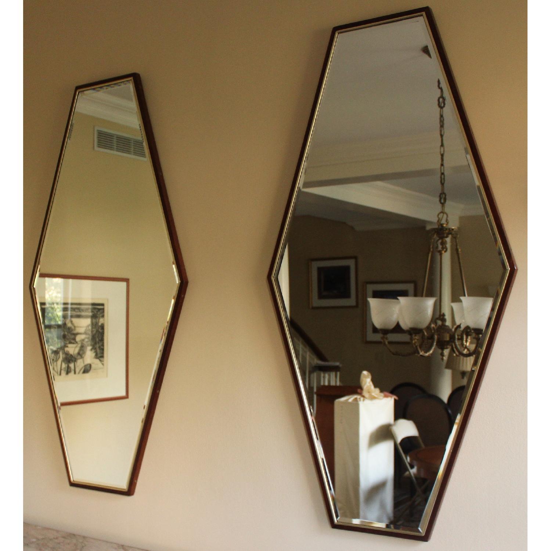 Mid-Century Hexagonal Mirrors - image-1