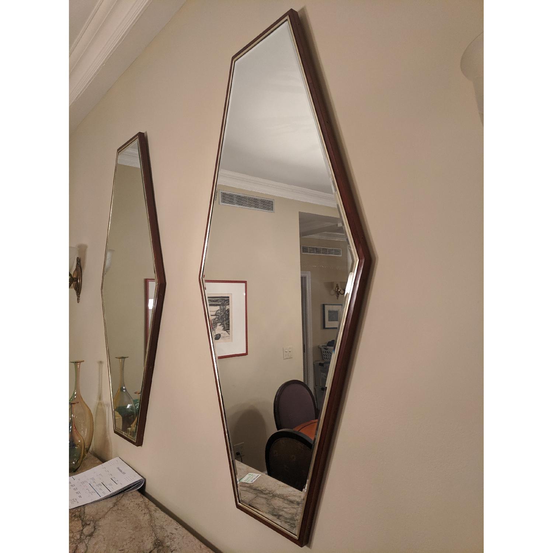 Mid-Century Hexagonal Mirrors - image-3