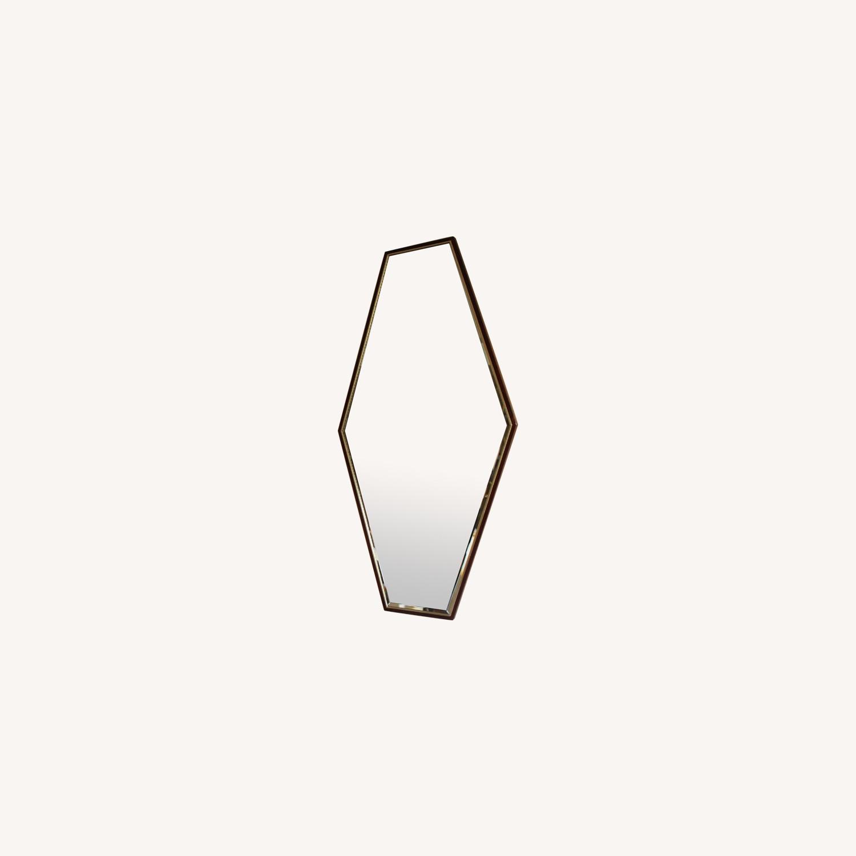 Mid-Century Hexagonal Mirrors - image-0