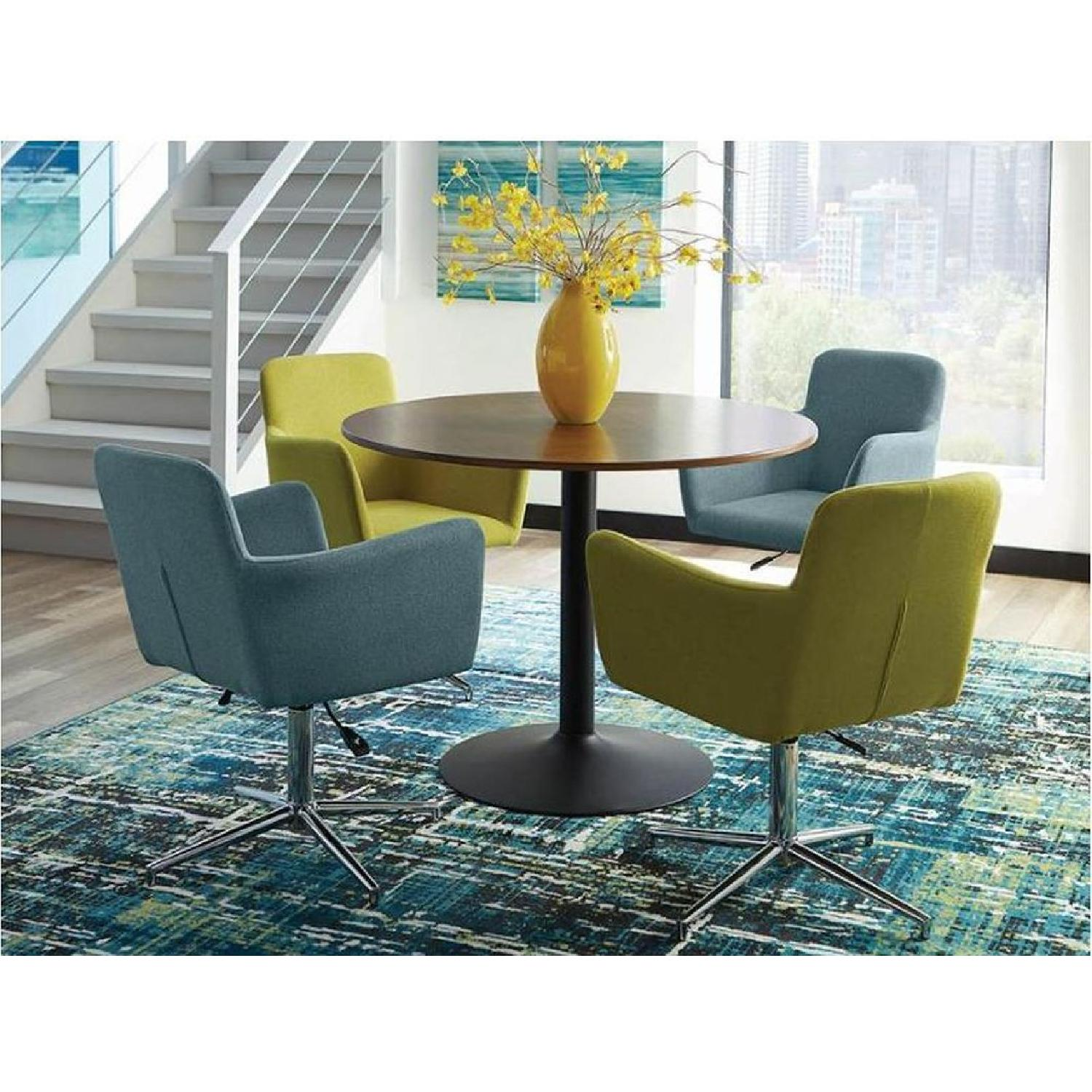 Mid Century Modern Style Dining Table in High Gloss Finish - image-7