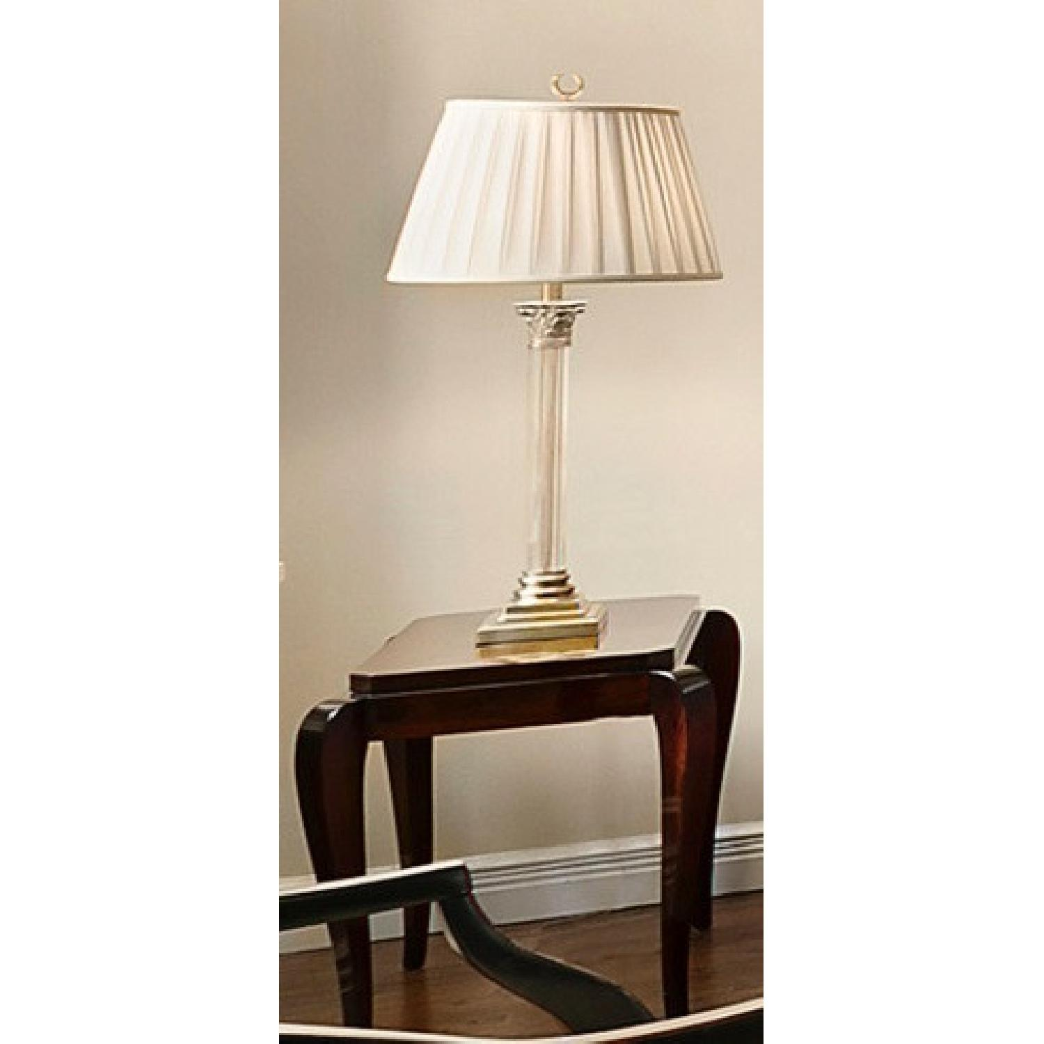 Gracious Art Deco Side Table w/ Tapered Legs - image-3