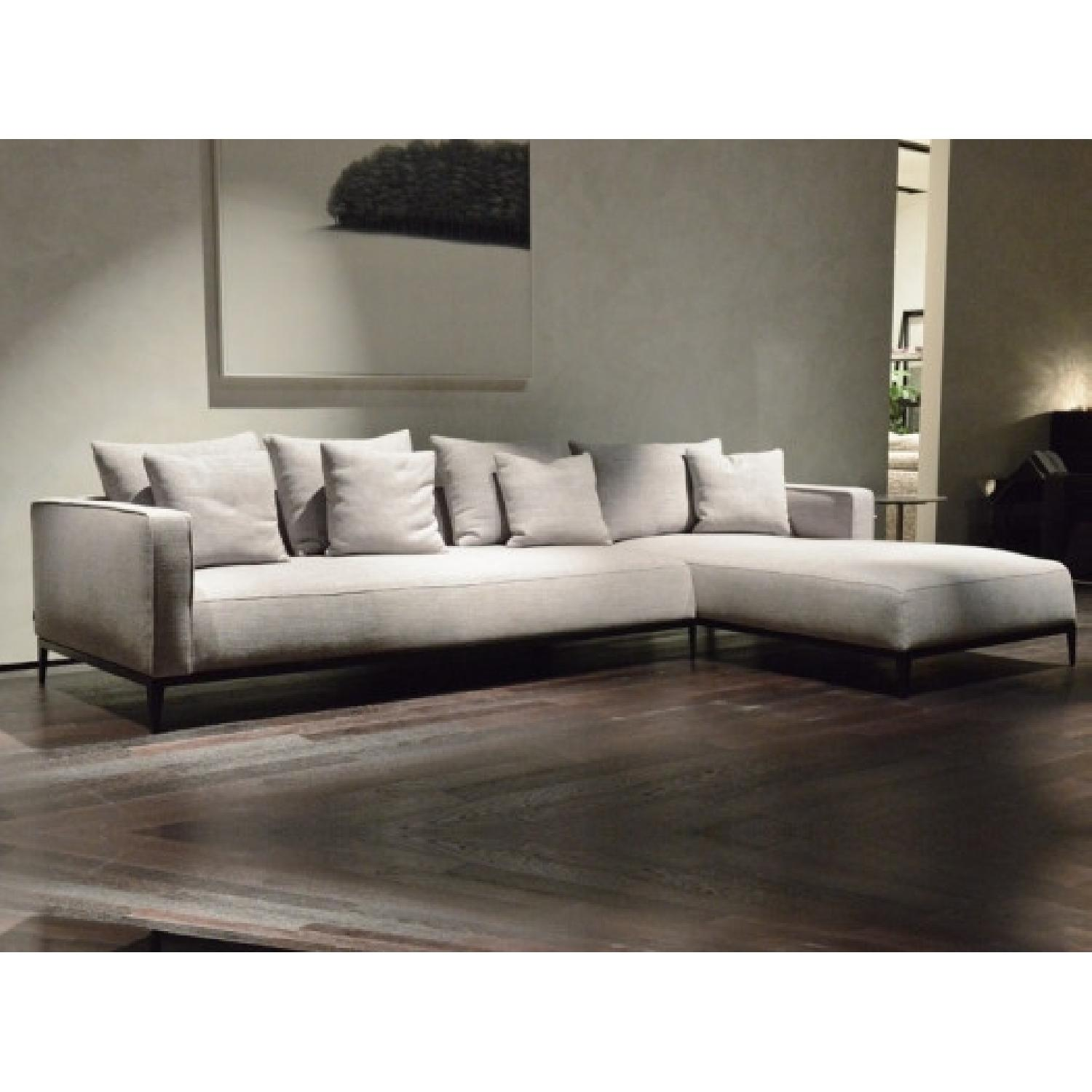sohoConcept California Large Left Arm Chaise Sectional Sofa - image-1
