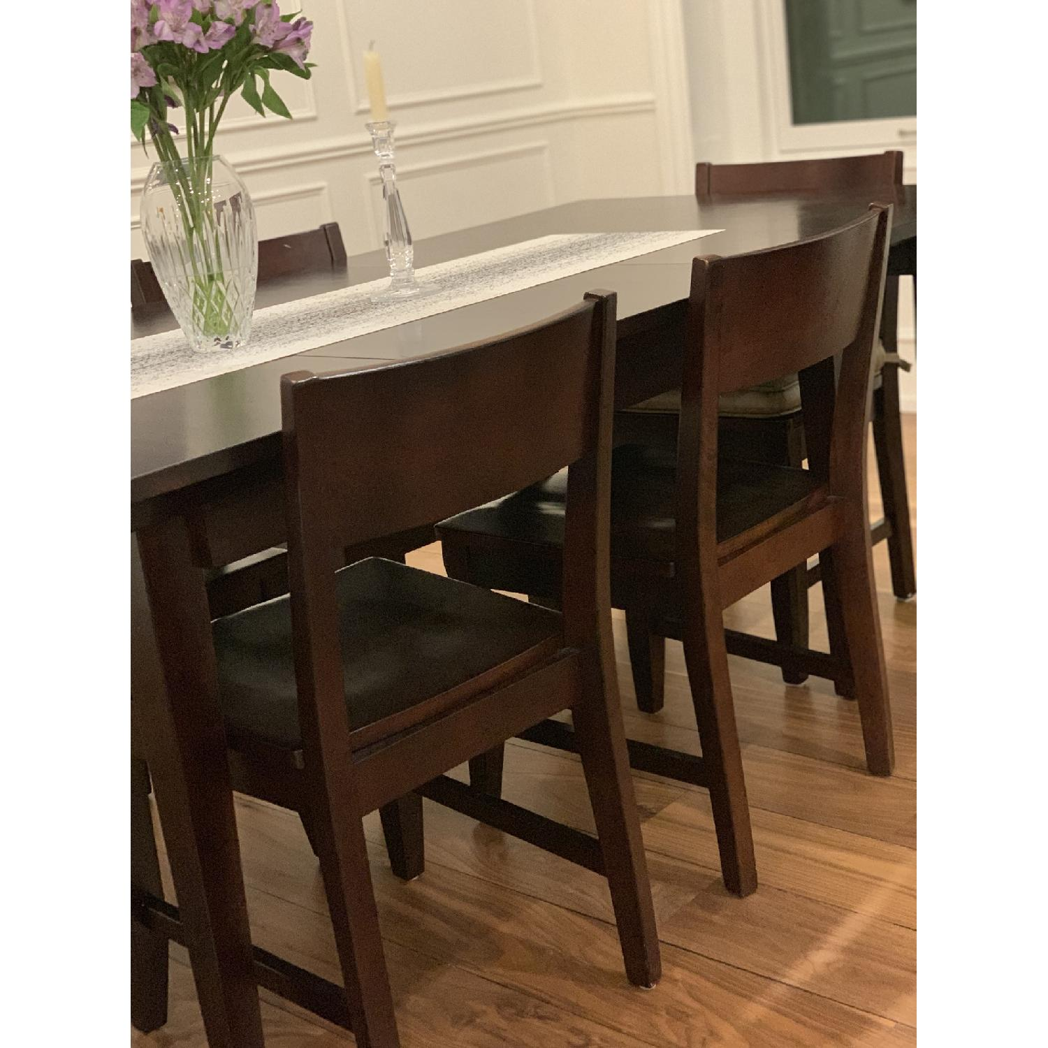 Montreal Espresso Wood Chairs - image-2