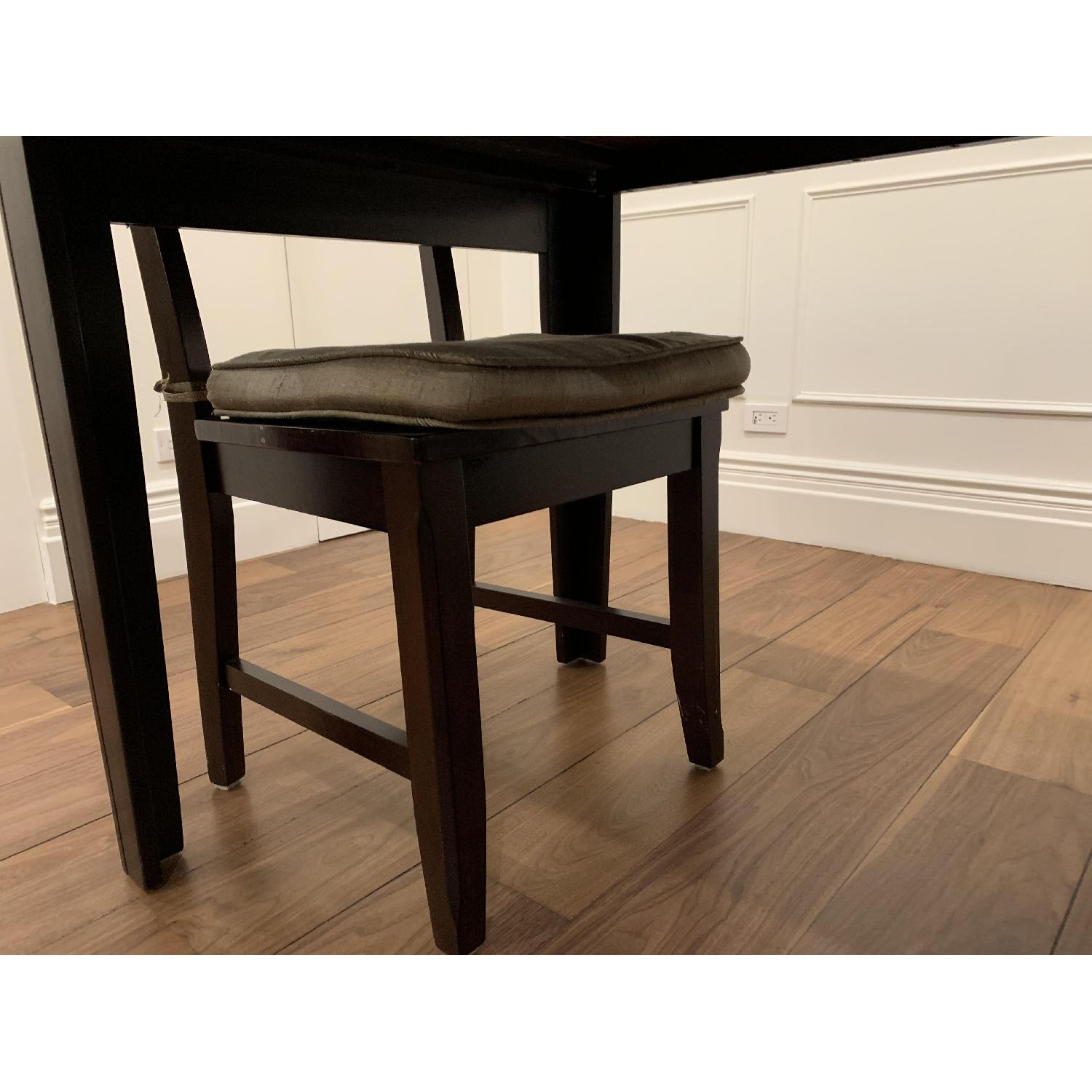 Montreal Espresso Wood Chairs - image-4