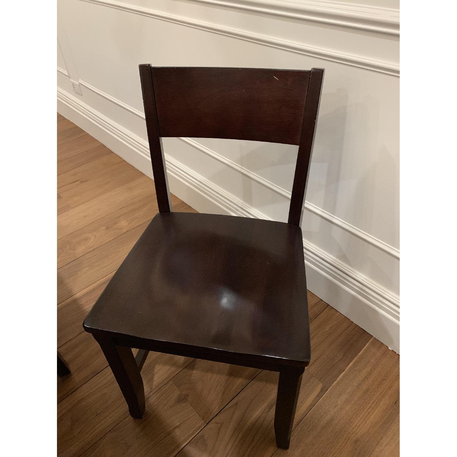 Montreal Espresso Wood Chairs - image-7
