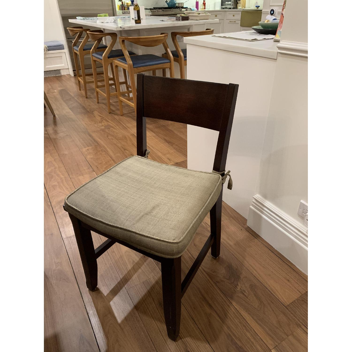 Montreal Espresso Wood Chairs - image-9