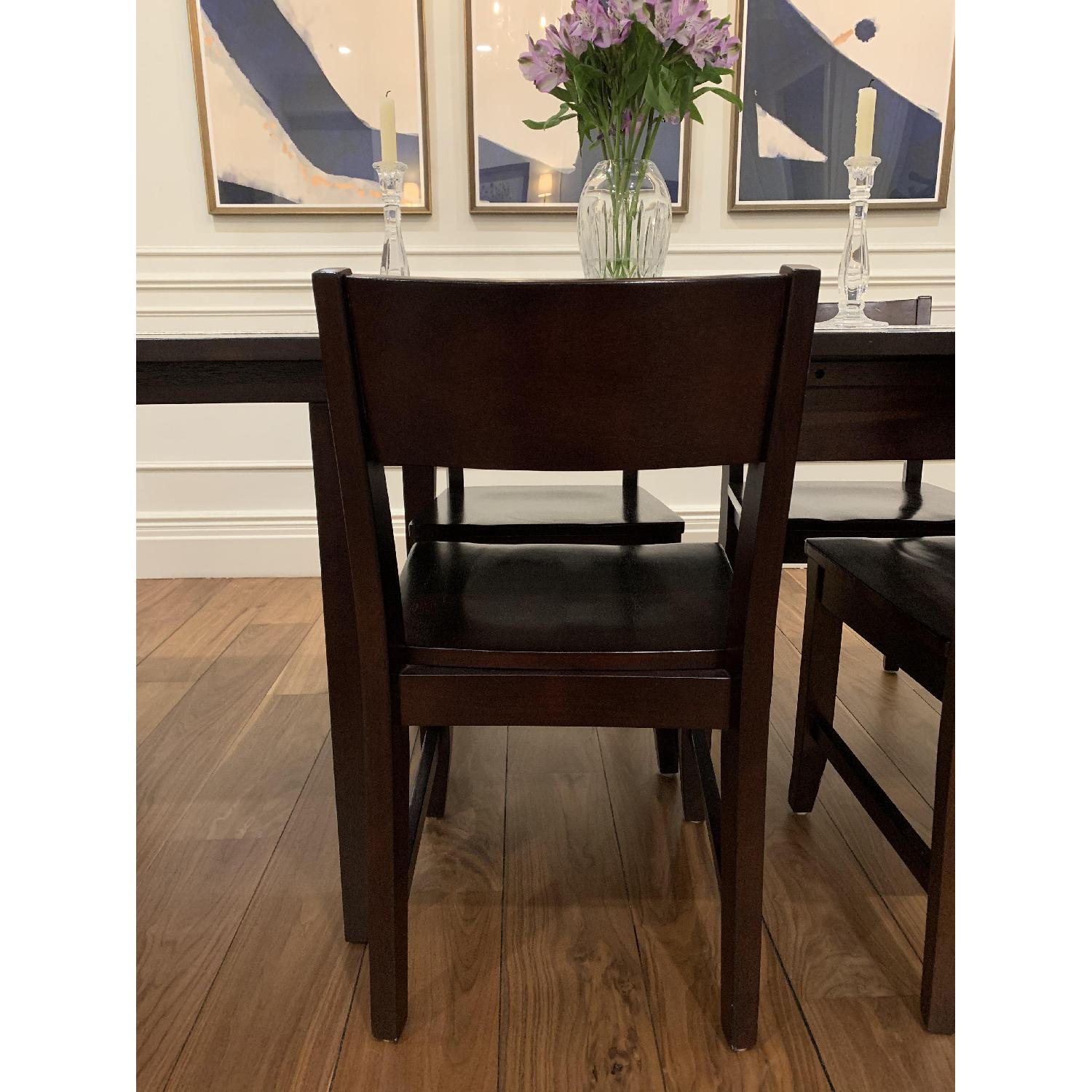 Montreal Espresso Wood Chairs - image-8