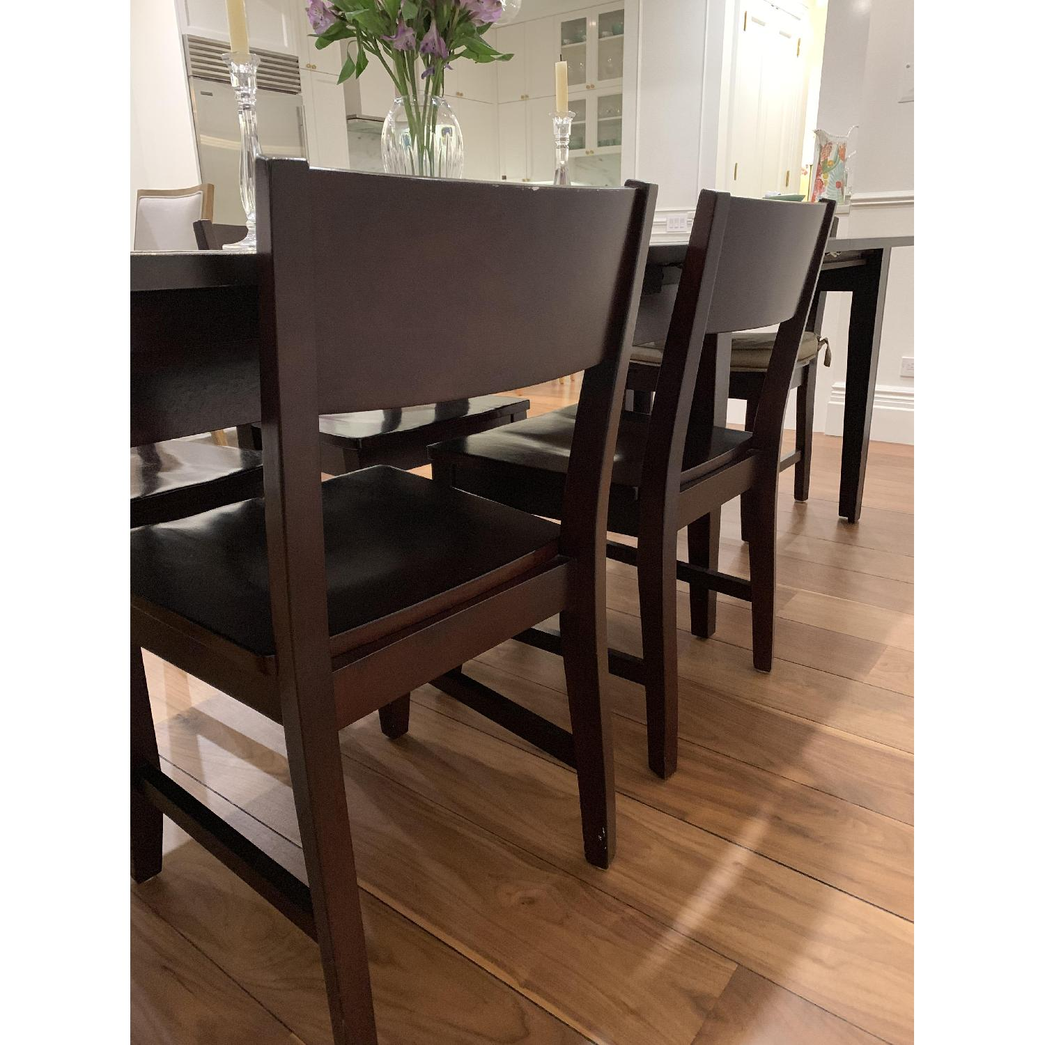 Montreal Espresso Wood Chairs - image-15