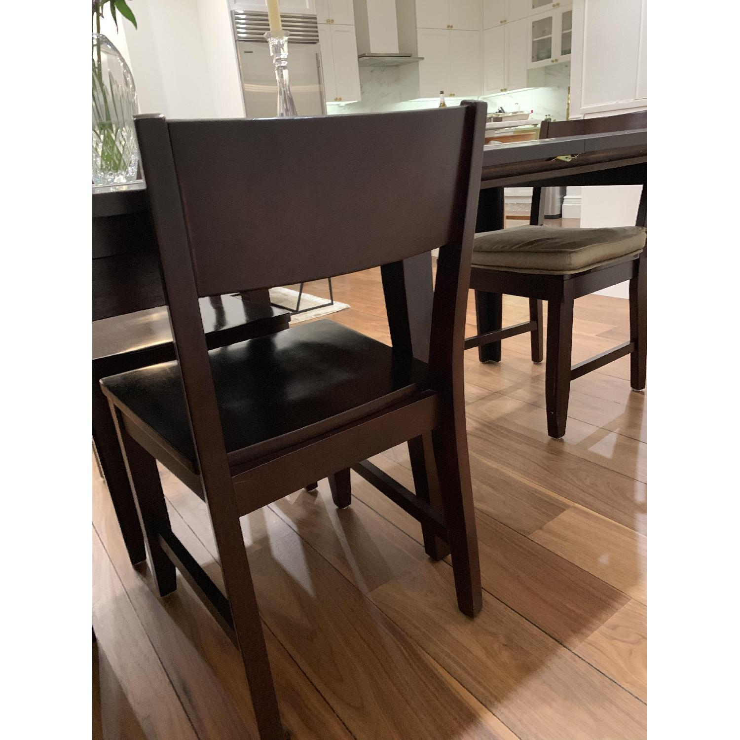 Montreal Espresso Wood Chairs - image-16