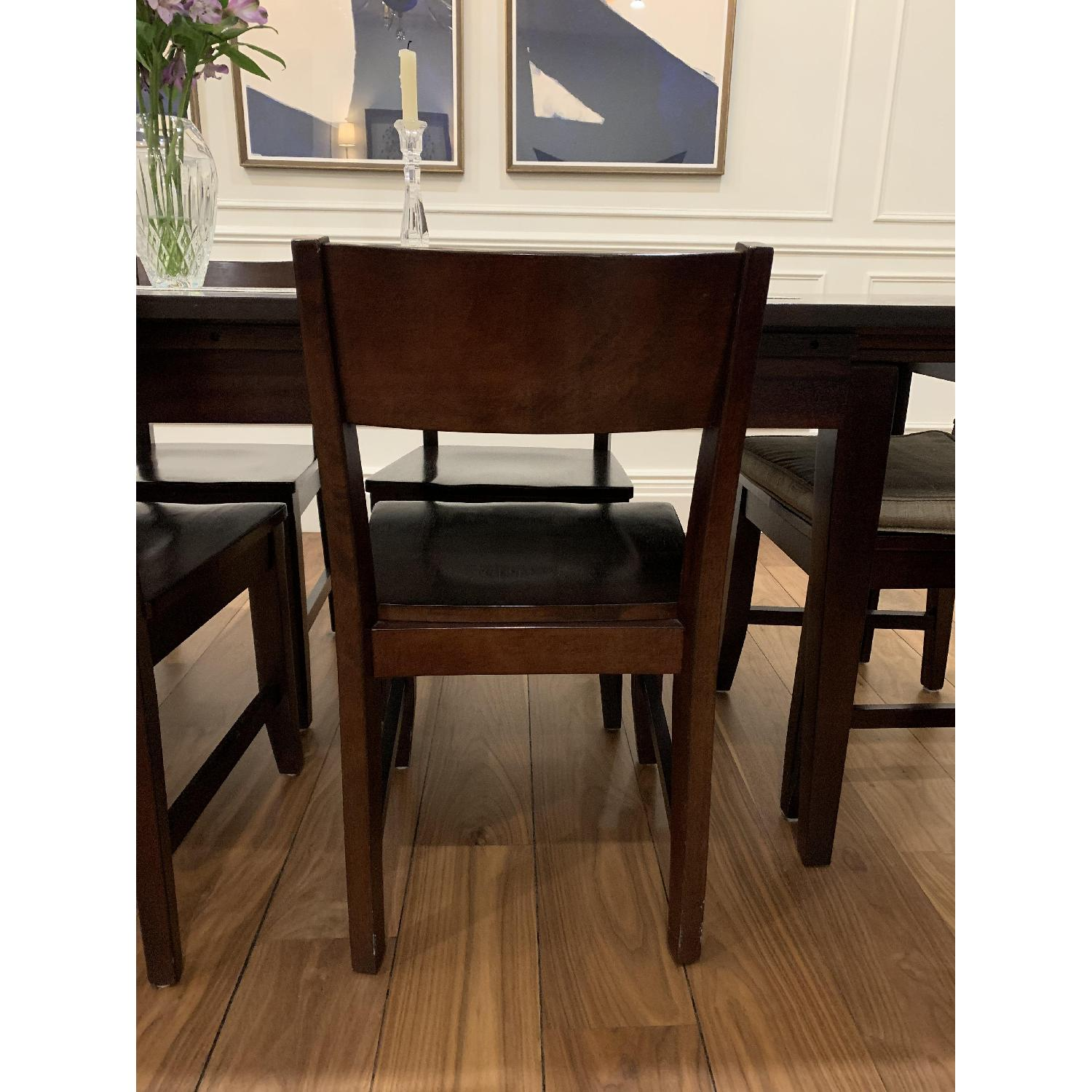 Montreal Espresso Wood Chairs - image-11