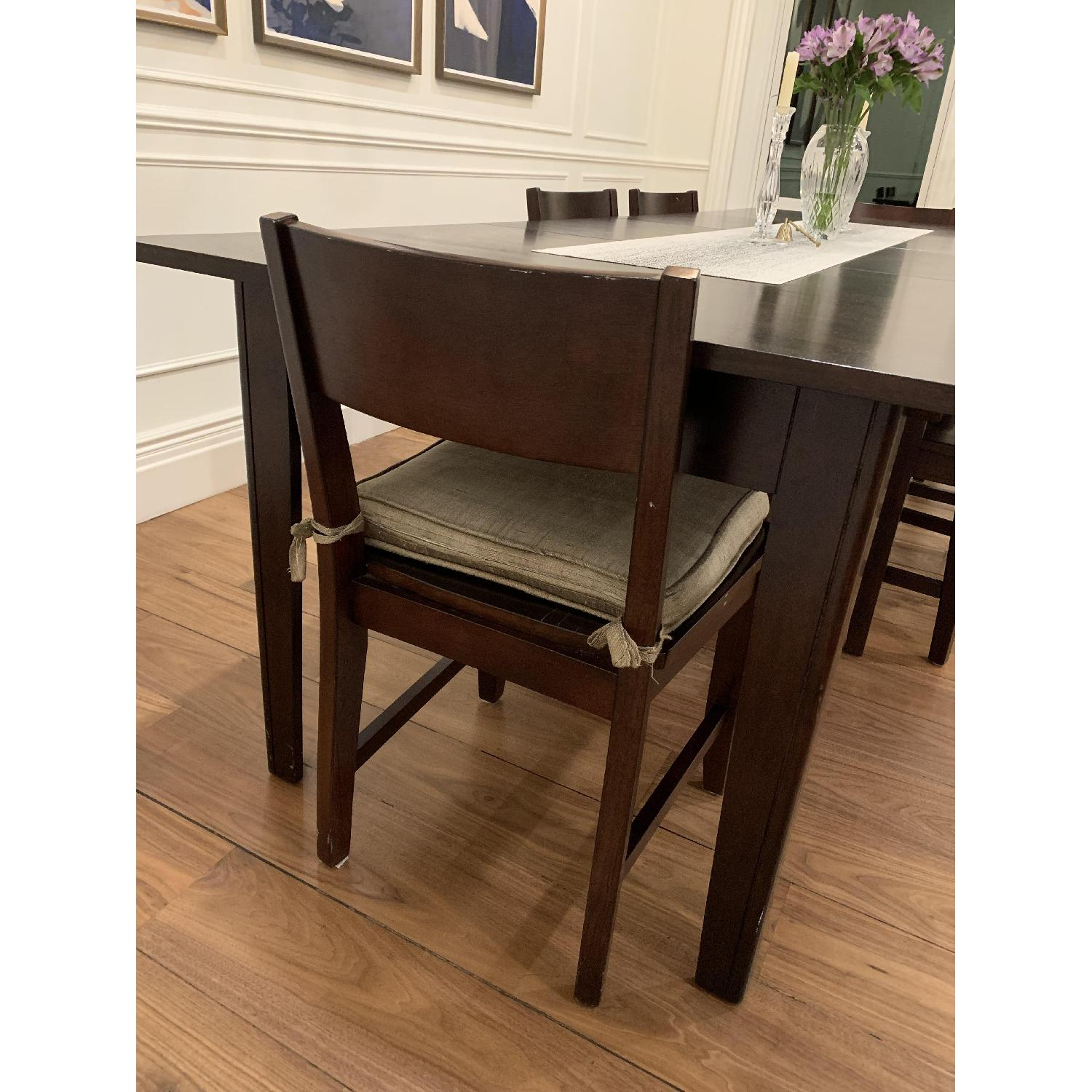 Montreal Espresso Wood Chairs - image-12