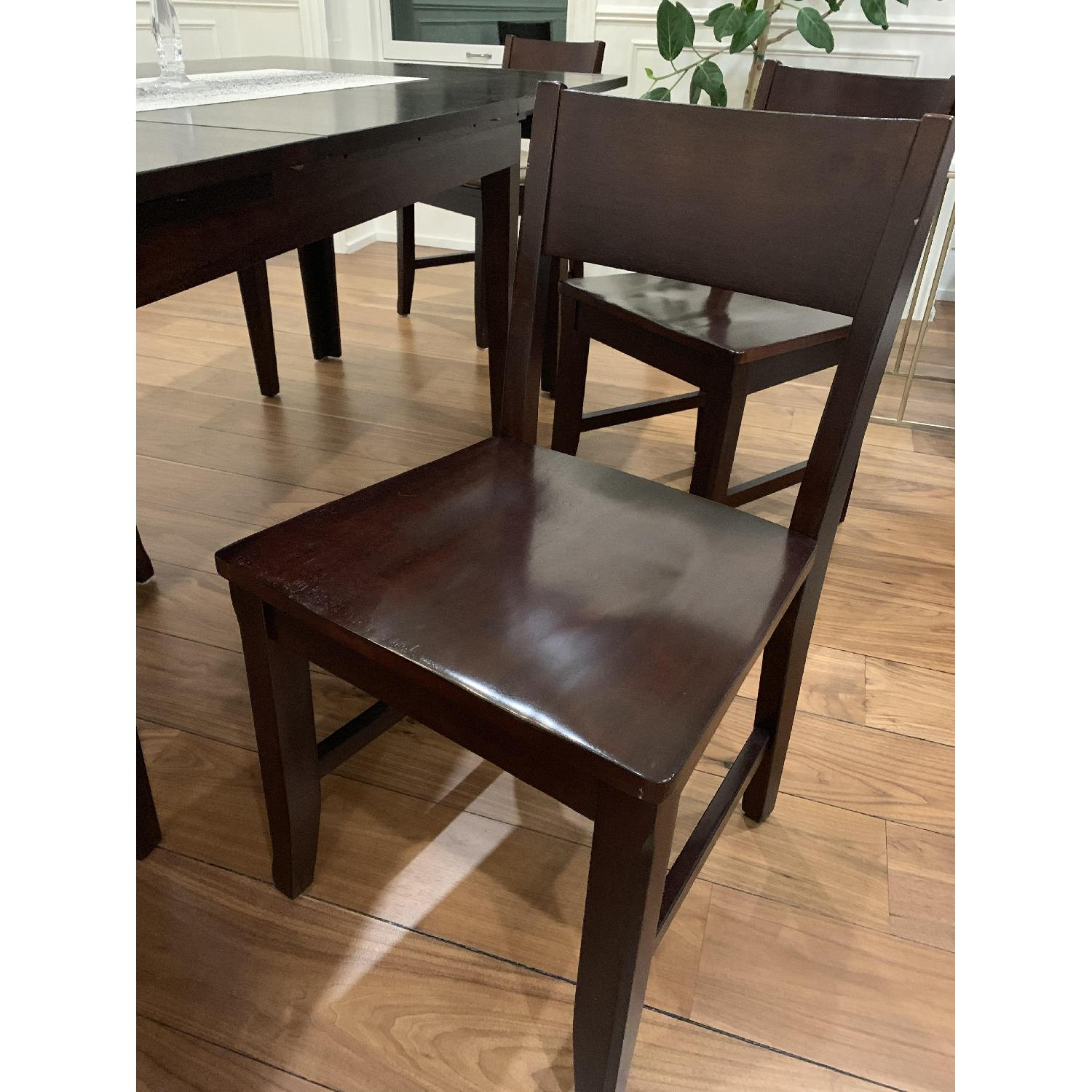 Montreal Espresso Wood Chairs - image-10