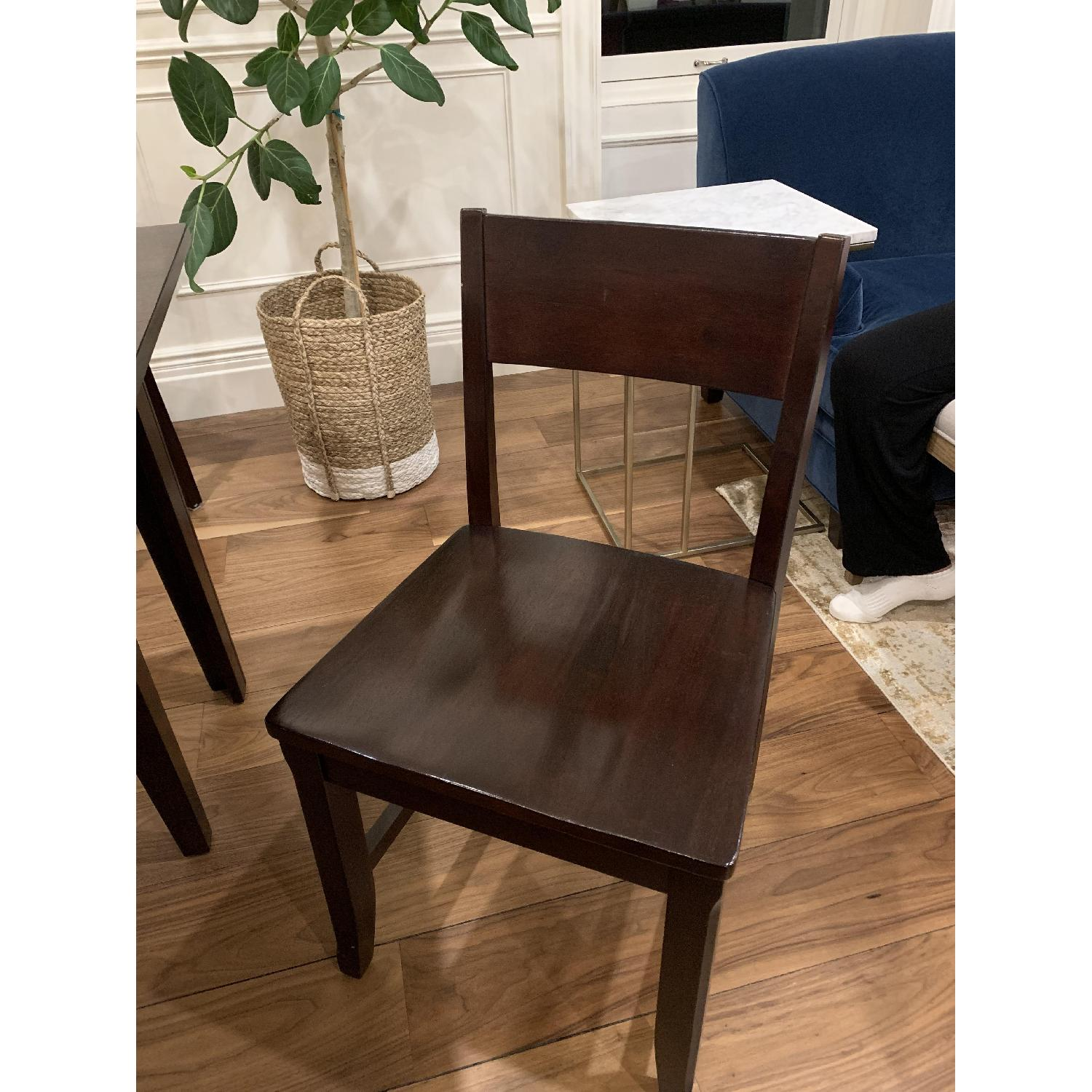Montreal Espresso Wood Chairs - image-17