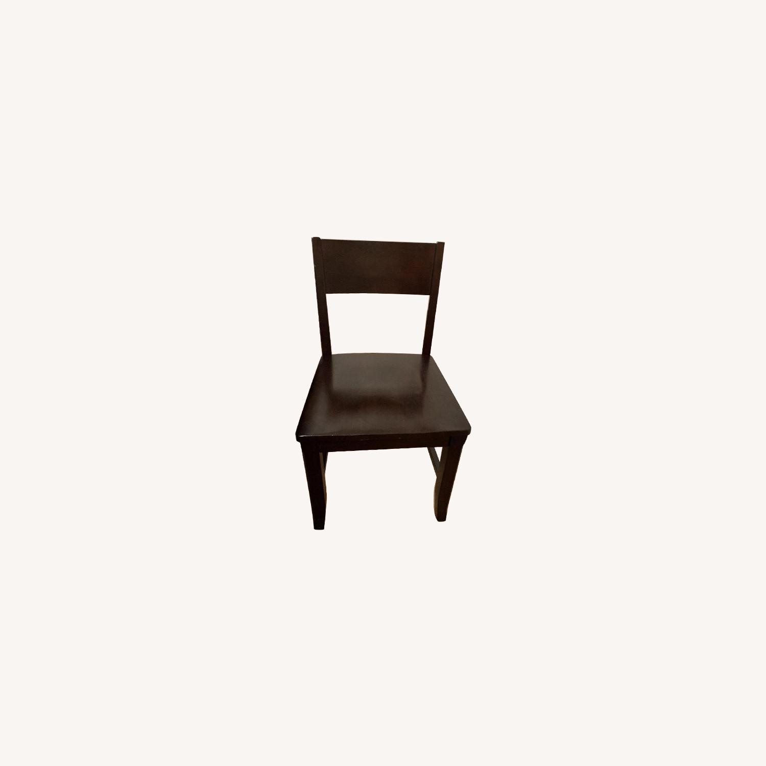 Montreal Espresso Wood Chairs - image-0