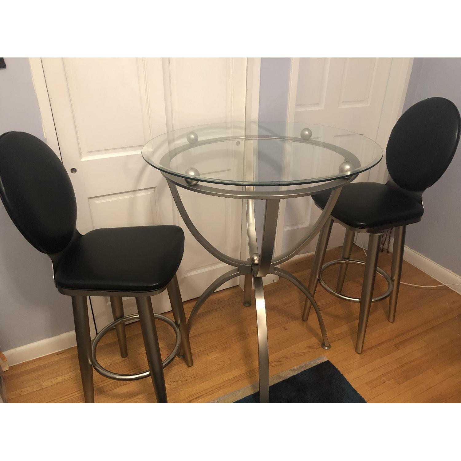 3-Piece Bar Table Set - image-1