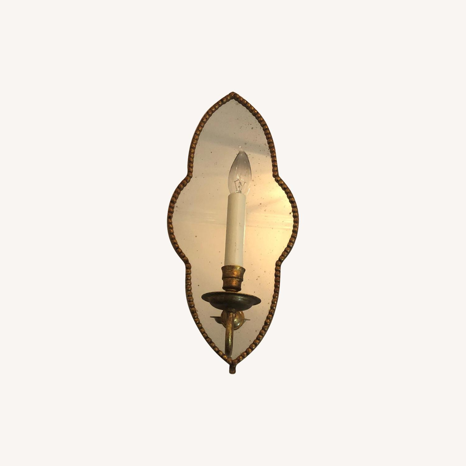 Mirrored Candle Sconce - image-0