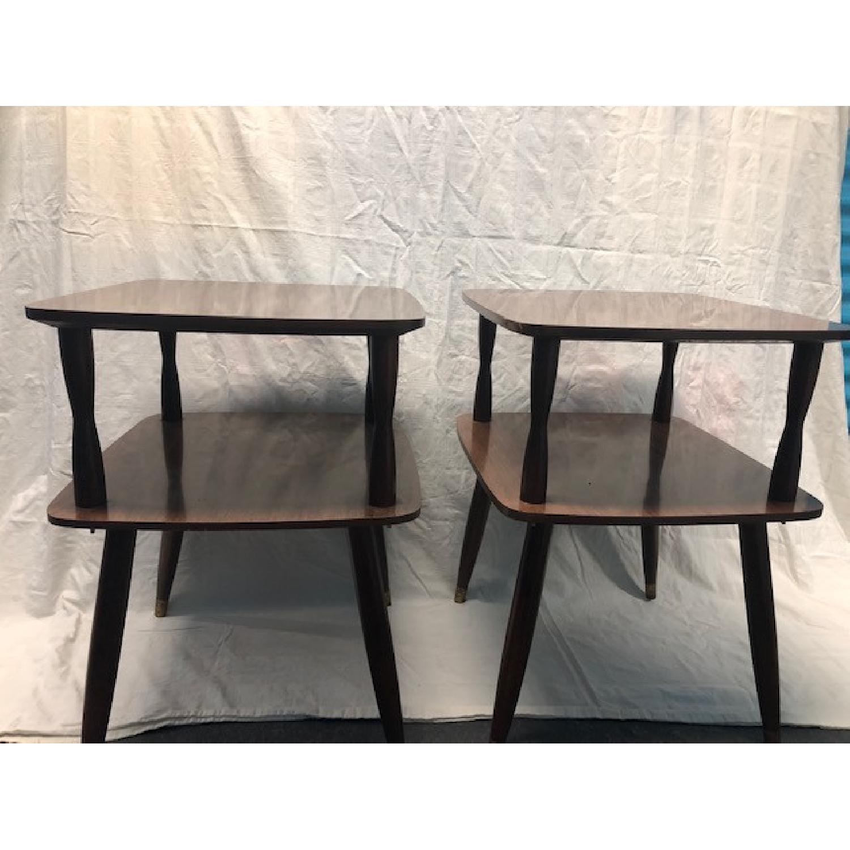 Vintage Mid-Century End Tables - image-1