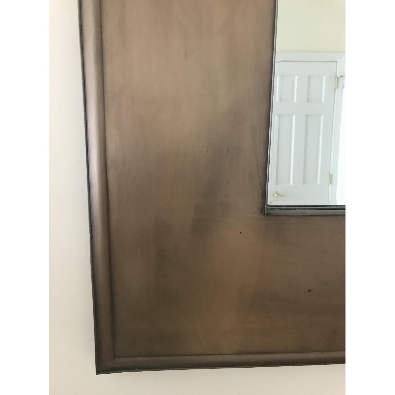 Crate & Barrel Metal Framed Mirror - image-2
