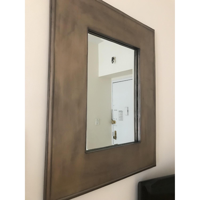 Crate & Barrel Metal Framed Mirror - image-3
