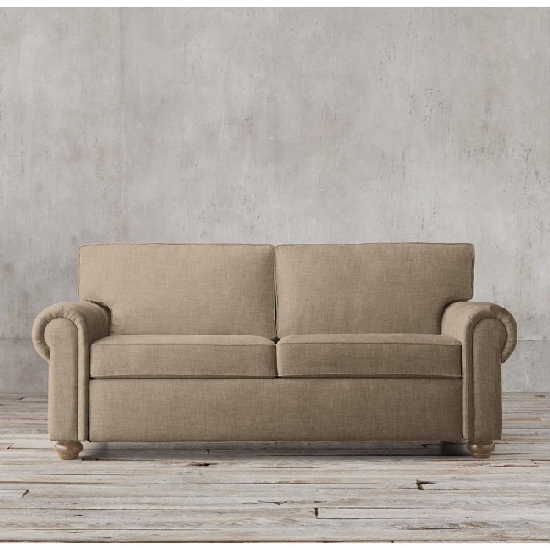 Restoration Hardware Lancaster Collection Sofa - image-0