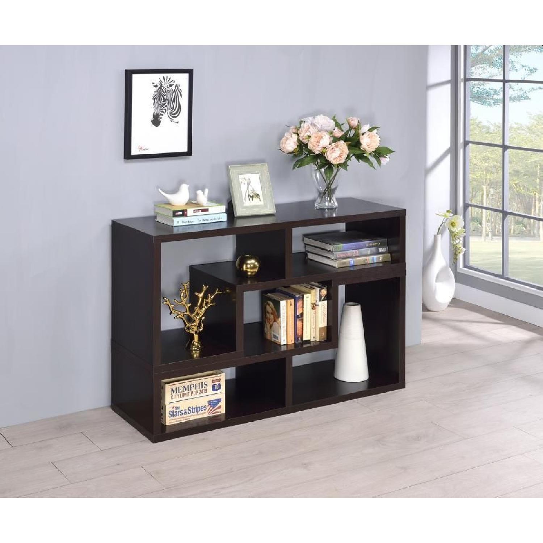 Cappuccino TV Console w/ Flexible Configuration - image-3