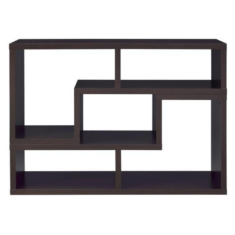 Cappuccino TV Console w/ Flexible Configuration - image-9