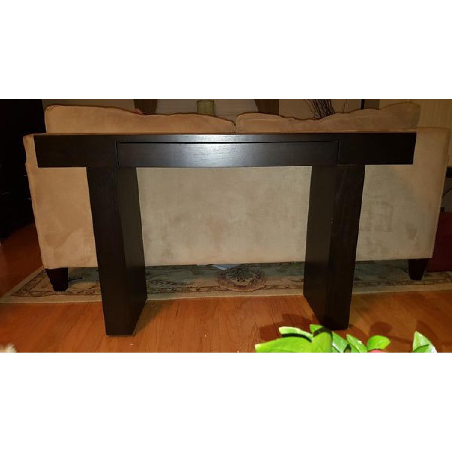 West Elm Terra Console in Chocolate - image-1