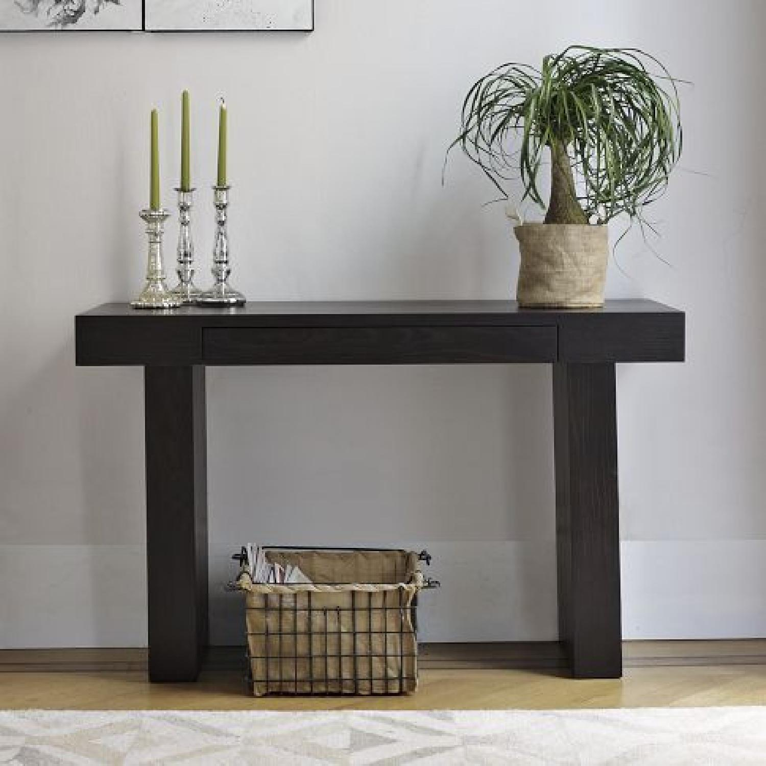 West Elm Terra Console in Chocolate - image-0