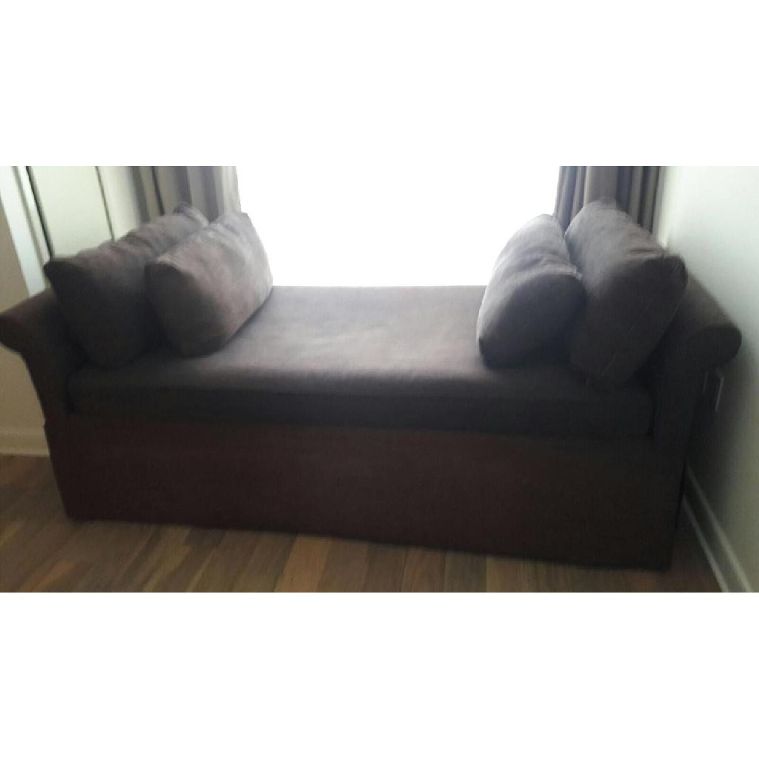 Room & Board Upholstered Daybed w/ Trundle - image-1