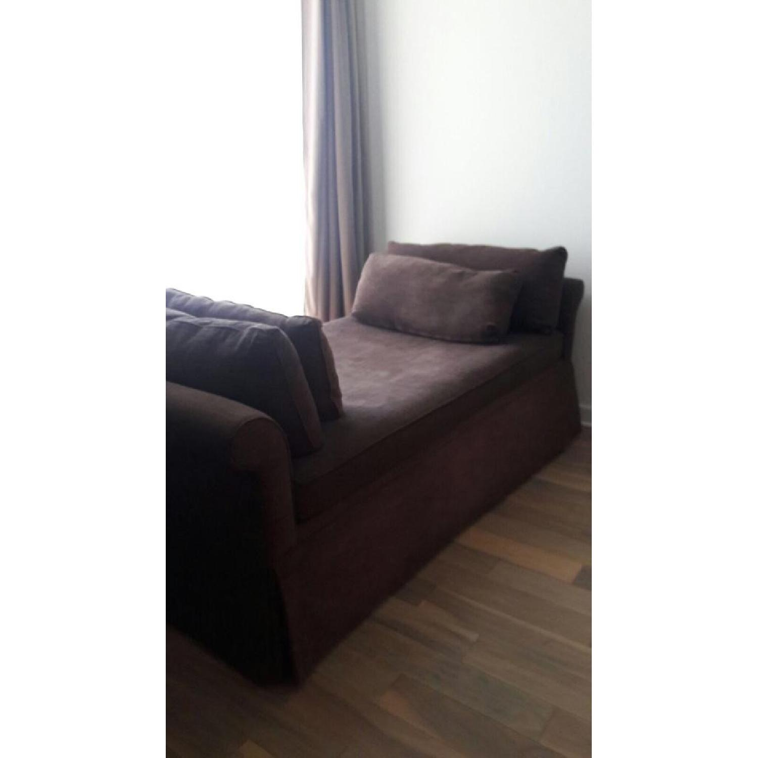 Room & Board Upholstered Daybed w/ Trundle - image-2