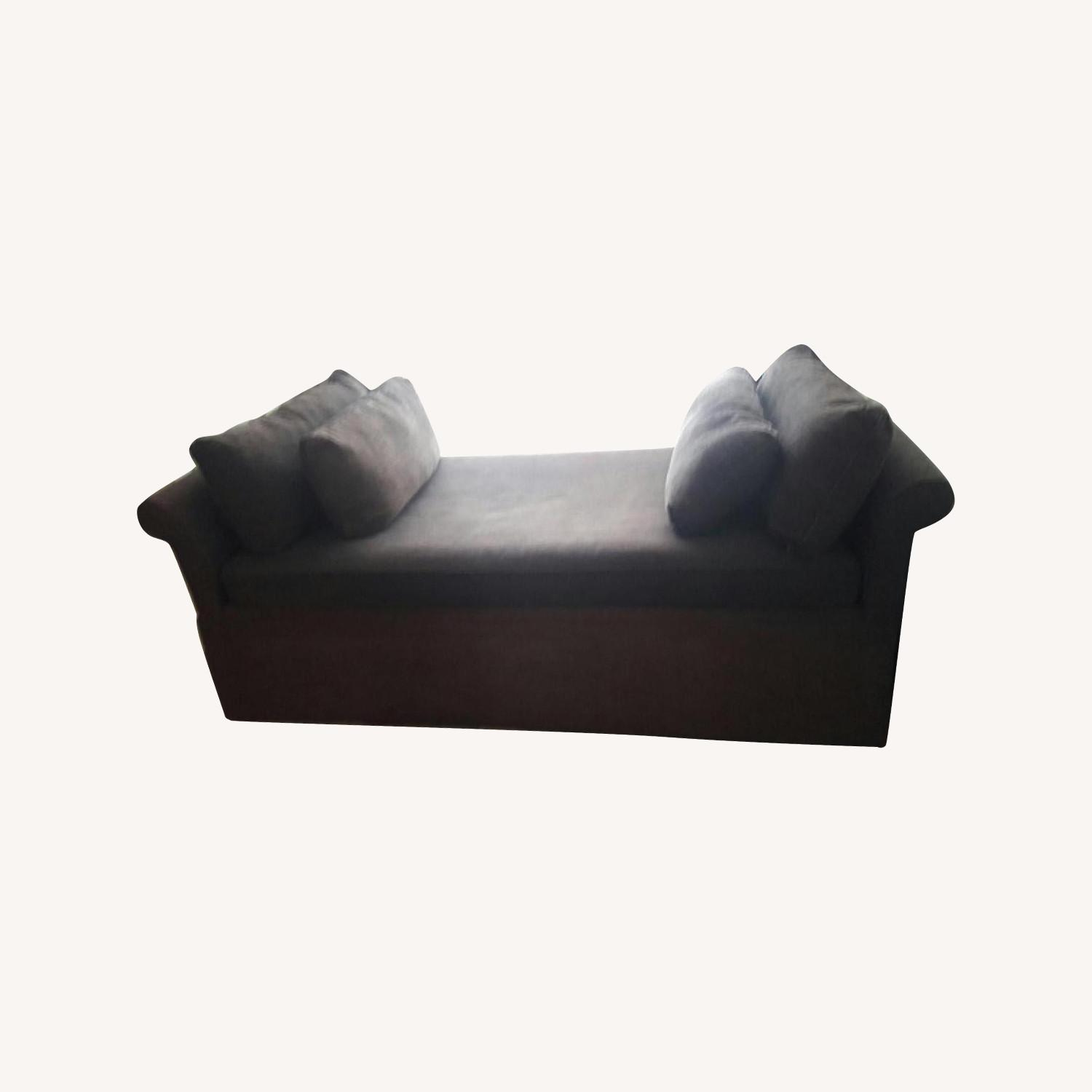 Room & Board Upholstered Daybed w/ Trundle - image-0