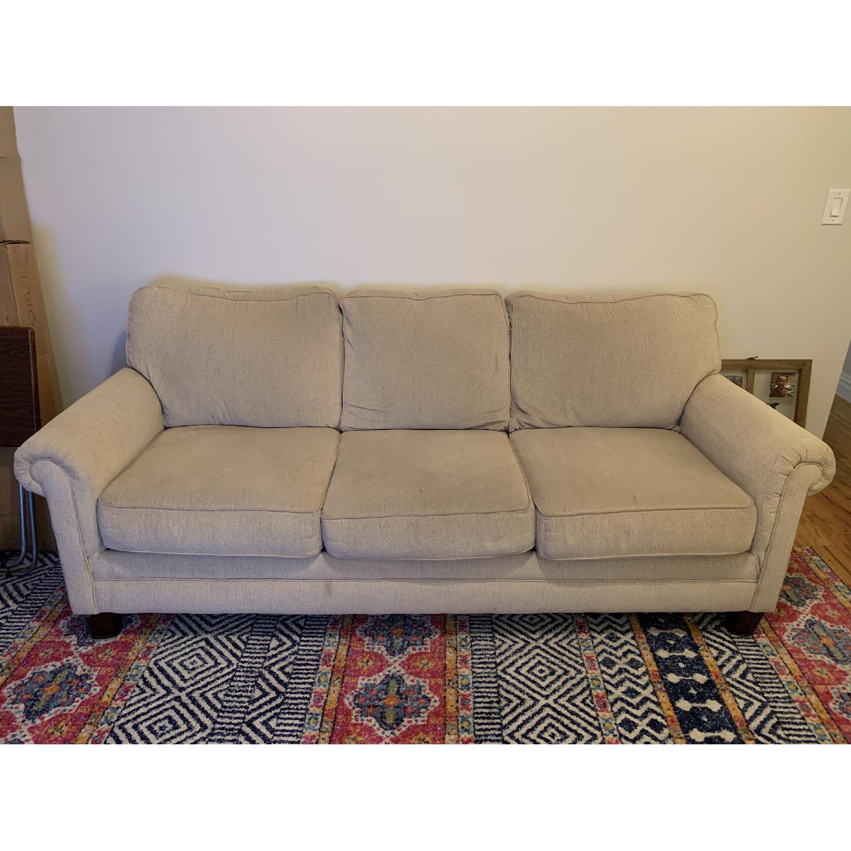 Ashley Oatmeal 3 Seater Sofa - image-1