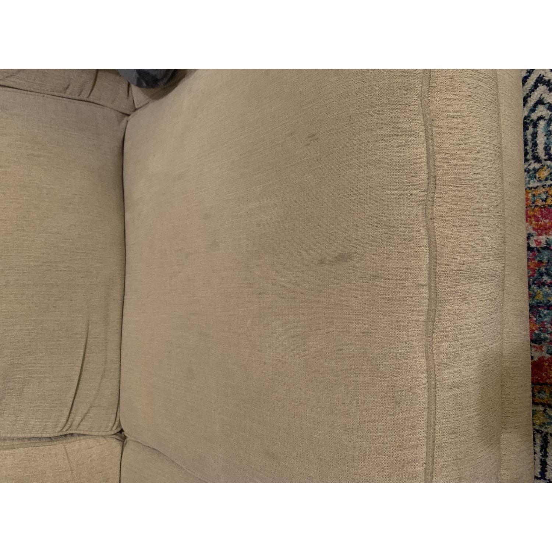 Ashley Oatmeal 3 Seater Sofa - image-5