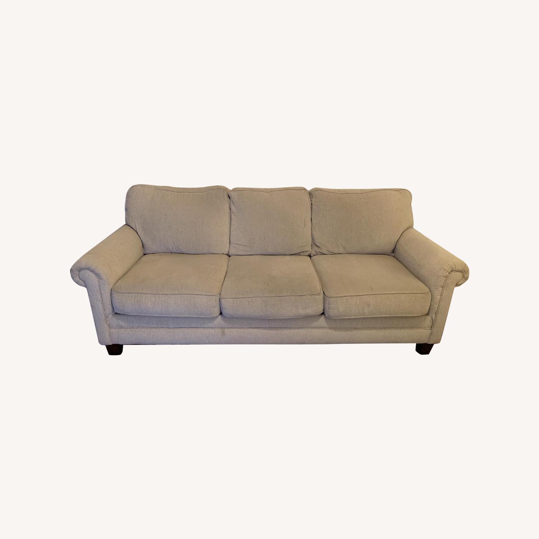 Ashley Oatmeal 3 Seater Sofa - image-0