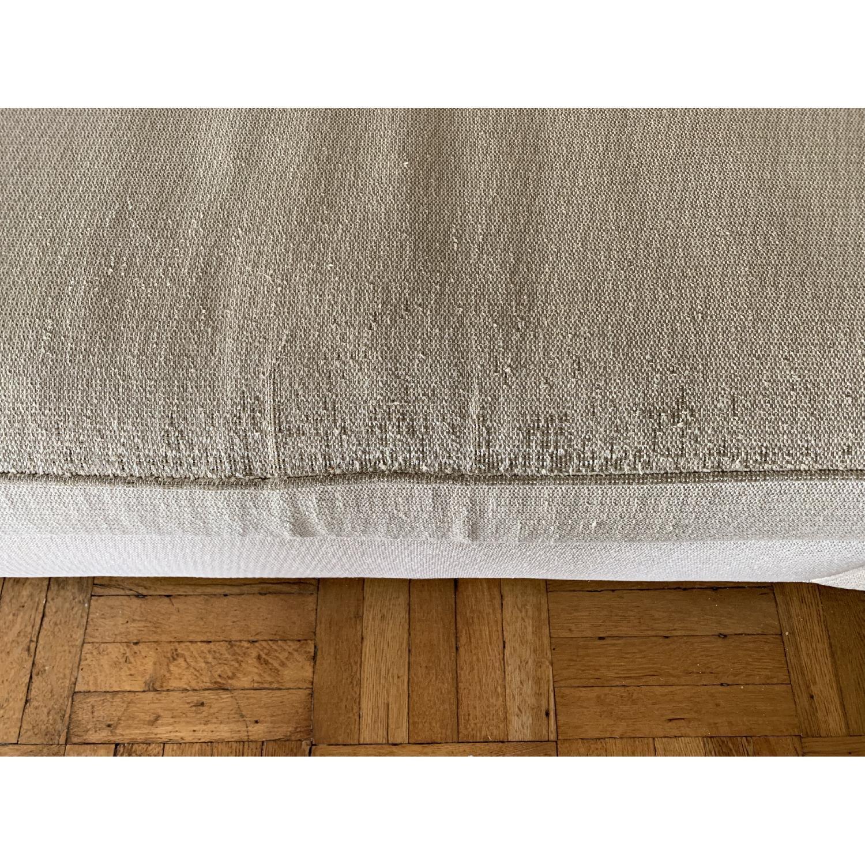 Ethan Allen Hudson Tan Sleeper Sofa - image-9