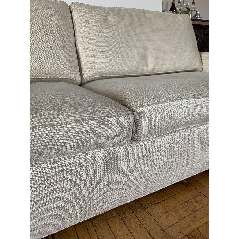 Ethan Allen Hudson Tan Sleeper Sofa - image-5