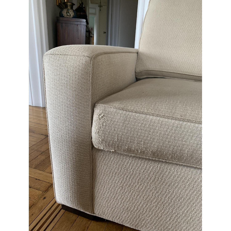 Ethan Allen Hudson Tan Sleeper Sofa - image-8
