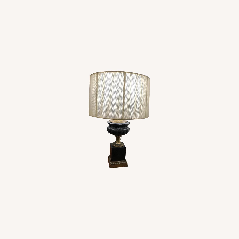 Neo-Classic Iron Urn lamps - image-0