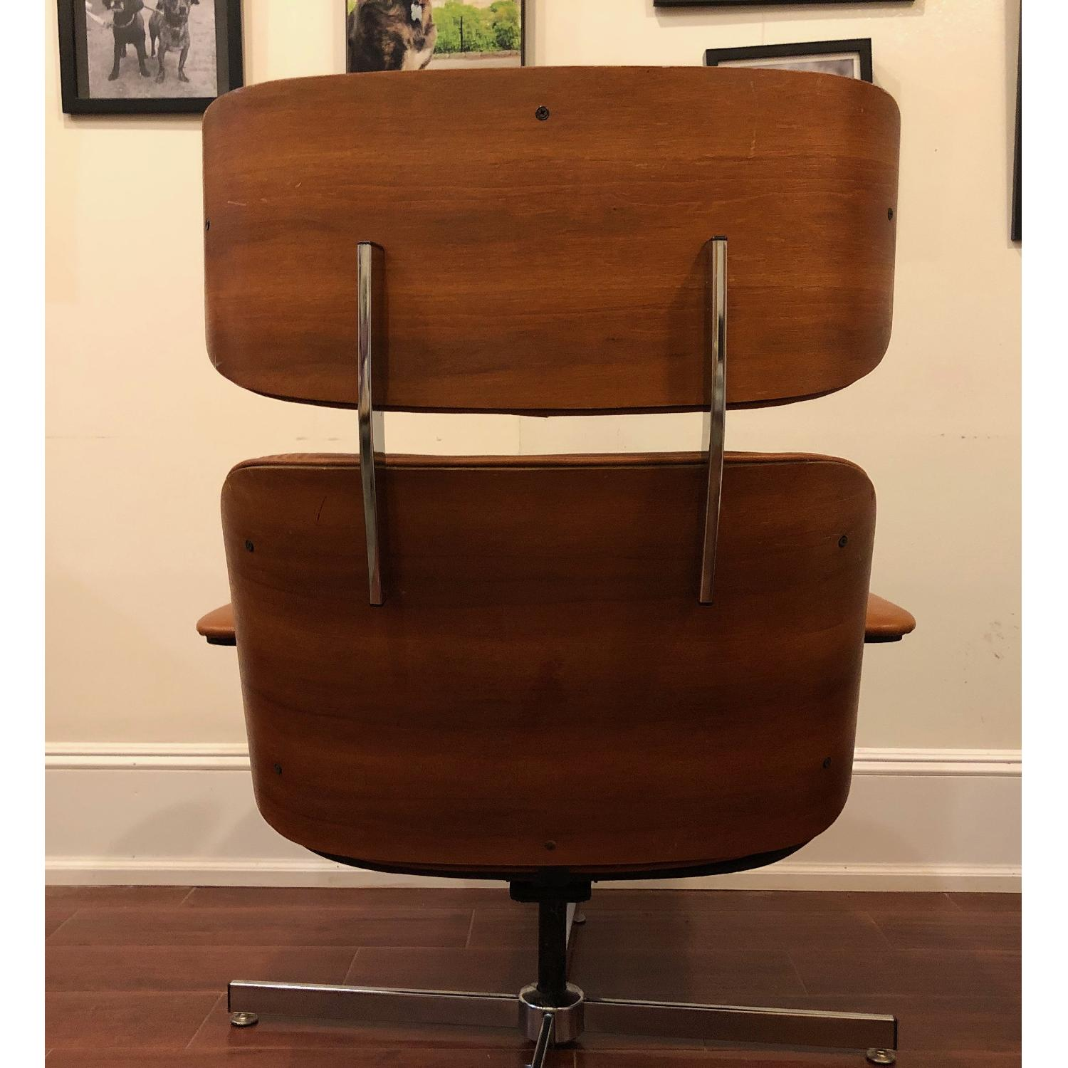 Plycraft Eames-Style Lounge Chair & Ottoman - image-6