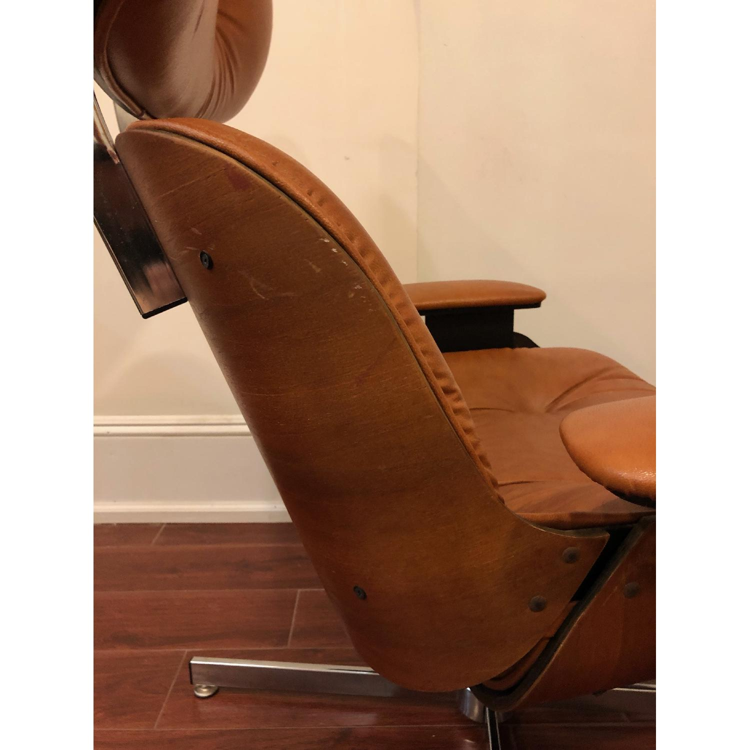 Plycraft Eames-Style Lounge Chair & Ottoman - image-5