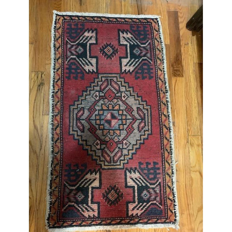 Vintage Turkish Wool Rug - image-1